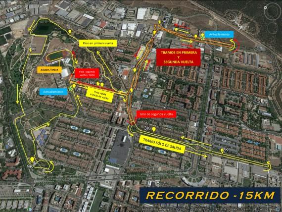Carrera 15 km